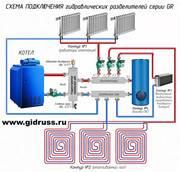 Гидравлические разделители и Гидрострелки