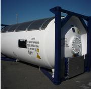 Танк-контейнер T50 для пропан бутана